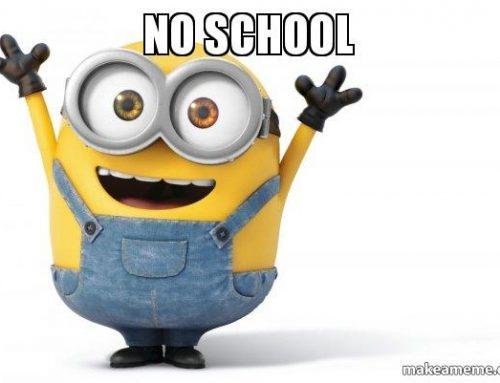 No School on Monday Nov. 25 – Friday Nov. 29 | No hay clases el lunes 25 de noviembre – viernes 29 de noviembre