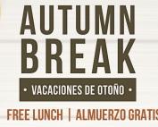 Autumn Break Free Lunches 2019