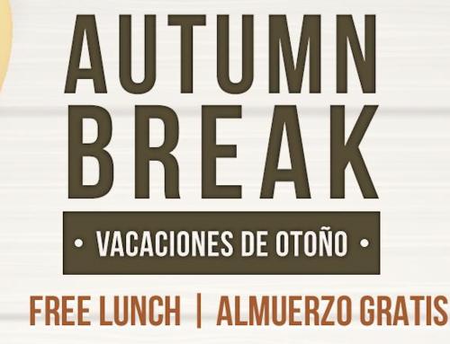 Free Lunches Monday-Wednesday, Nov. 25-27 | Almuerzos gratis de lunes a miércoles, del 25 al 27 de noviembre