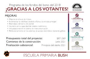 Información sobre bonos de Bush